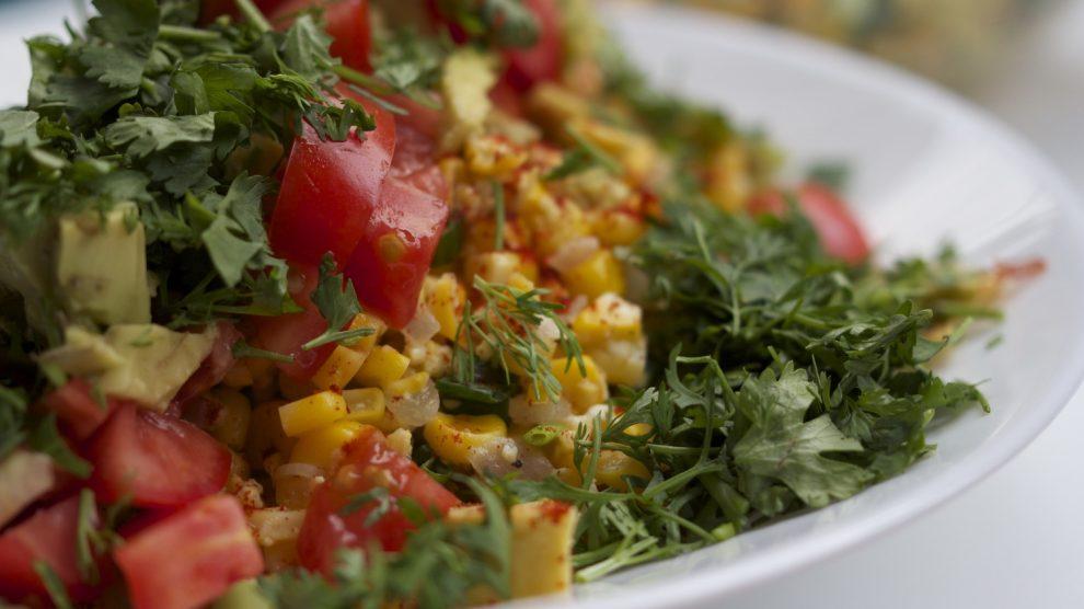 Byau Pu Tho (Corn Salad)