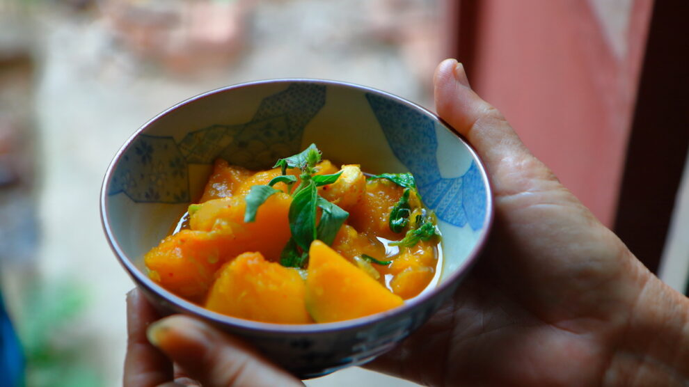 Myanmar Pumpkin Curry